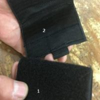 Lower Velcro set